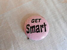 Vintage Get Smart 1960s TV Show Vending Machine Type Pinback Button