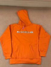 Supreme S/S 17 - Sequin Logo Hoodie - Large - Orange - IN HAND DSWT Hoody