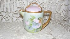 ROSENTHAL SELB BAVARIA DONATELLO FLORAL CREAMER PITCHER GOLD ACCENTS