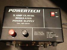 Powertech 5 AMP BENCH/LAB POWER SUPPLY - 240V Power -13.8V DC Output -