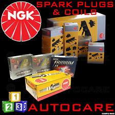 NGK Spark Plugs & Ignition Coil Set BKUR6ET-10 (2397) x4 & U2003 (48010) x1