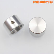 2pcs 22*15mm Aluminum Machined DAC Turntable Radio AMP Potentiometer Volume Knob