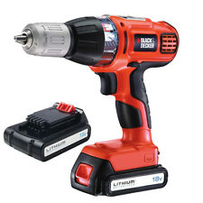 Black&Decker Trapano avvitatore a percussione 2 batterie Litio 18V ASL188KB-QW