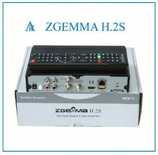 ORIGINAL-ZGEMMA-H-2S-DUAL-CORE-SATELLITE-RECEIVER-DVB. Fast dispatch