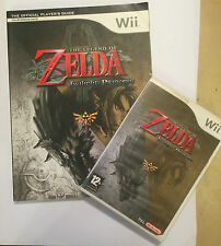 Nintendo Wii Game & strategia Guida la leggenda di Zelda Twilight Princess PAL