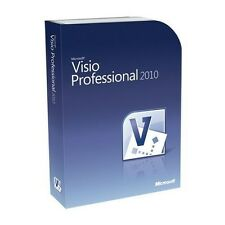 MICROSOFT Visio Professional 2010 FULL download del software con chiave originale