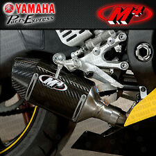 2006 - 2016 YAMAHA YZF-R6 YZF R6 M4 STREET SLAYER CARBON SLIP ON EXHAUST MUFFLER