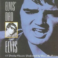 Elvis' Dad Sings Elvis by Ross McManus (CD, Jun-1997, Hallmark Music &...