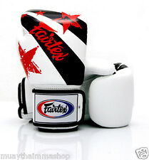 Fairtex New Color NATION PRINT Boxing Gloves Limited Edition