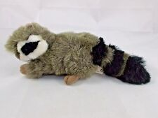 K&M International Raccoon Plush Striped Tail