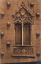 BF17200 salamanca ventana de la casa de las conchas spain front/back image