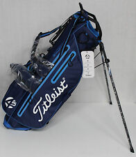 Titleist 4UP StaDry Stand Bag - Navy Blue - TB6SX2-44 NWT Waterproof Performance