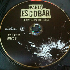 Pablo Escobar parte 2 Disc 4 Replacement Disc  DVD ONLY