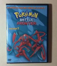DVD Dessins Animés Pokemon Battle Frontier Volume 7