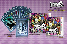 Persona Q: Shadow Of The Labyrinth & Tarot Cards [Nintendo 3DS, First Print] NEW