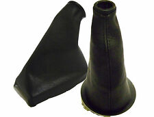 BMW MINI COOPER  GEAR+HANDBRAKE GAITERS LEATHER BLACK