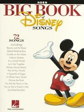 The Big Book Of Disney Songs Learn to Play French Horn Music Book