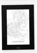 2014 STAR WARS CHROME PERSPECTIVES SKETCH HOTH REBEL LASER MIKEY BABINSKI 1/1