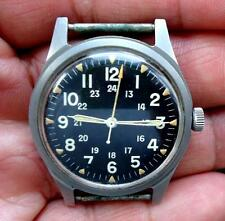 BENRUS US MILITARY WATCH DATED JULY 1965 LOW SERIAL NUMBER 063138