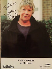 6x4 Hand Signed Photo of Eastenders Star Laila Morse - Big Mo Harris