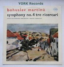 SUA 10669 - MARTINU - Symphony No 4/ Tre Ricercari TURNOVSKY - Ex Con LP Record