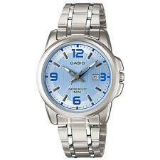 Casio LTP-1314D-2A Stainless Ladies Big Face Analog Watch LTP1314