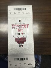 2015 MLB ALL STAR GAME TICKET STUB 7/13 WORKOUT DAY HOME RUN DERBY TODD FRAZIER