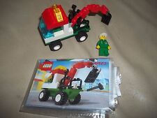 LEGO City/Town 6423 Mini Tow Truck 100% instructions MINIFIG SUPER RARE