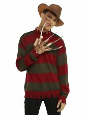 A Nightmare On Elm Street Deluxe Freddy Krueger Tattered Costume Knit Sweater XL