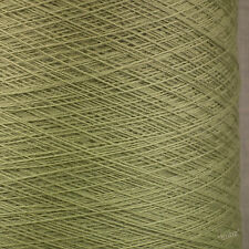 ITALIAN PURE MERINO WOOL 2/30s - SAGE GREEN - LACEWEIGHT YARN 1 2 PLY LANA GATTO