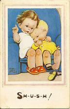 CHILDREN :'Sh-u-s-h!'-MABEL LUCY ATTWELL-VALENTINE'S
