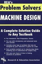 Machine Design Problem Solver (Problem Solvers Solution Guides)-ExLibrary