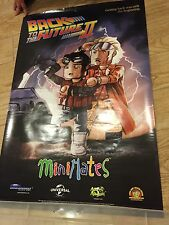 BACK TO THE FUTURE II MINIMATES POSTER 2015 SDCC EXCLUSIVE PROMO 24 X 36