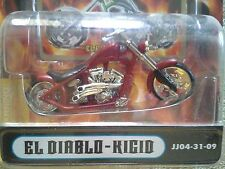 West Coast Choppers El Diablo Rigid Jesse James 1/31 Diecast Motorcycle NEW