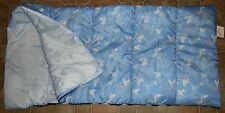 Sleeping Bag Childrens Boys Blue Surfboards Skateboards Bicycles 28x57 Padded
