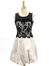 BNWT Karen Millen Womens Ivory Lace Bubble Dress DK174 Size UK 6