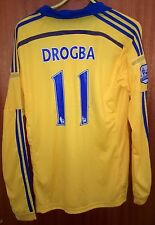 CHELSEA  -DROGBA 11  - M SIZE  .STUNING LOOK  N DESIGN- WITH  STAIN ON BACK .