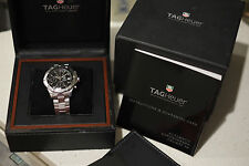 Authentic Tag Heuer Aquaracer Chronograph Automatic 200M Mens Watch CAF2110
