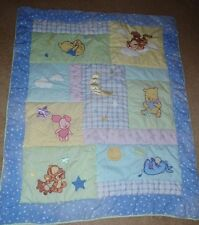 Disney CLASSIC WINNIE THE POOH Baby Crib Bedding Nursery Comforter Only Neutral