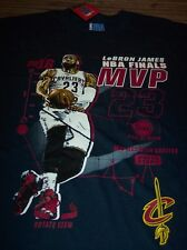 CLEVELAND CAVALIERS CAVS LEBRON JAMES MVP NBA BASKETBALL T-Shirt LARGE NEW