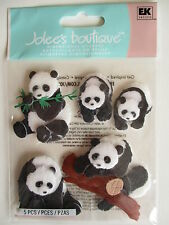 JOLEE'S BOUTIQUE STICKERS - PANDAS zoo
