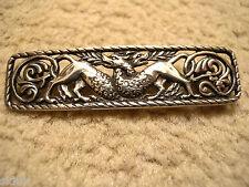 Vintage silver Zoomorphique Écossais Iona AR broche-Alexander Ritchie 1920 / 30s