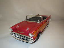 "Ertl/American Muscle  Chevrolet Bel  Air  ""1957"" (rot-met./orange) 1:18 ohne Vp."