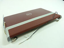"NEW X6V17 0X6V17 Dell Studio XPS 16 1645 16"" LED HD Top Half LCD Assembly RED"