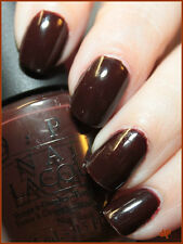 NEW! OPI NAIL POLISH Nail Lacquer in SUZI SAYS DA! ~Russian Collection Red-Brown