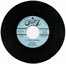 """TONY DRAKE  """"IT HURTS ME MORE c/w SUDDENLY""""  NORTHERN SOUL         LISTEN!"""