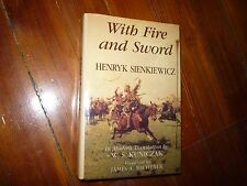 With Fire and Sword Book I Henryk Sienkiewicz, W. S. Kuniczak Signed