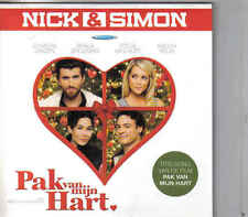 Nick&Simon-Pak Van Mijn Hart cd single