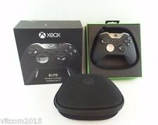 Black Microsoft Xbox Elite Wireless Controller for Xbox One Model 1698 #La