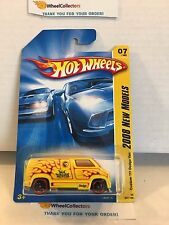 Custom '77 Dodge Van #7 * Yellow * 2008 Hot Wheels * L3